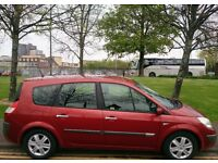 RENAULT GRAND SCENIC 1.6 DYNAMIQUE VVT++(1 YEAR MOT)++ **7 SEATER MPV** EXCELLENT CONDITION