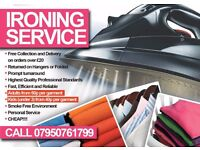 Fantastic and Affordable Ironing Service - Free Collection / Delivery (Leicester)