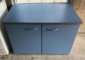 Desk, Cupboard and Bookcase