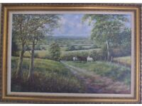 Peter Webster: The New Arrival (Framed Oil Painting)