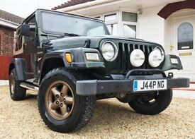 Jeep Wrangler TJ 1997. 2.5L Sports. 86K miles. Private plate. Full MOT.