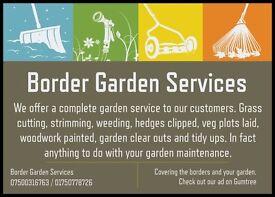 Border Garden Services Covering the Borders and Your Garden Gardener Scottish Borders