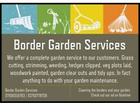 Border Garden Services Covering the Borders and Your Garden Gardener Scottish Borders