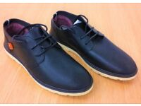 Men's Casual Shoes, Size 8, Black, RRP £12.00 (BRAND NEW)