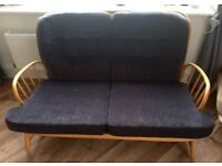 Vintage Genuine Ercol Two Seater Sofa