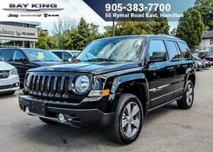 2017 Jeep Patriot HIGH ALTITUDE, 4X4, SUNROOF, HTD LEATHER, BLUE