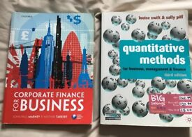 Corporate Finance for Business & Quantitative Methods