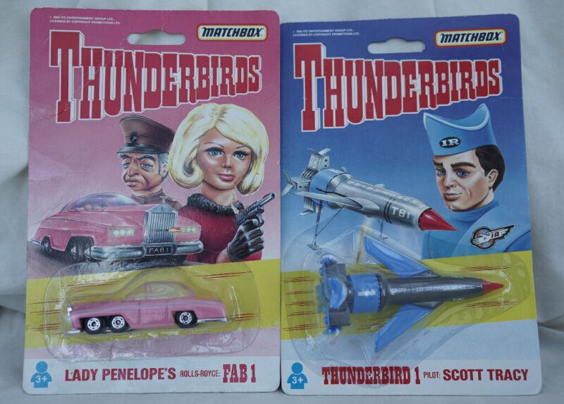 Matchbox Thunderbird 1 FAB1.  2 models for sale  Abbeymead, Gloucestershire