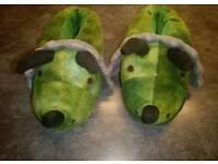 Kids dinosaurs slippers