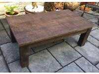 Reclaimed Timber - Rustic Style Coffee Table - New / Boxed