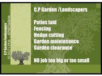 C.P GARDEN/LANDSCAPERS
