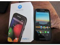 Motorola Moto E. XT 1021-4GB Black Unlocked Smart Phone Excellent Condition