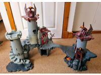 Playmobil Large Dragon Knights Castle. 2 sets that join up