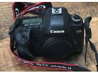 Canon 5D Mark II very good condition, very low shutter count