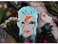 DAVID BOWIE MUSICAL TRIBUTES AT THE MURAL...JAN 10TH 2016...VIDEOS & PHOTOS WANTED...CASH PAID!!