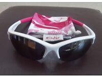 Oakley Sunglasses. Commit Squared Polished White with Black Iridium Lenses