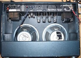 hughes kettner triamp combo 100 watt guitar valve amp