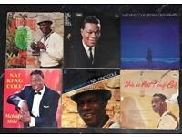 6 x Nat King Cole vinyl records