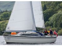 Yacht, 25ft, 4 berth, Ullswater, Lake District. Great condition for sailing / live aboard