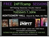 FREE 24FIT sessions - Wath