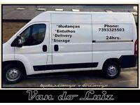24/7 MAN & VAN SERVICES, LARGE VAN (DELIVERY/STORAGE/RELOCATION/REFURBISHMENT RUBBISH)