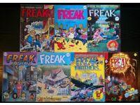 'The Fabulous Furry Freak Brothers' Comics 1-7 (uk reprints)
