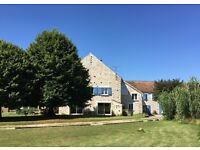 5/6 bedroom superb restored farmhouse in France, close to Paris, Fontainebleau , Seine-et-Marne