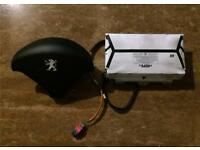 Dash airbag and steering airbag