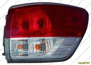 Tail Light Passenger Side High Quality Nissan PATHFINDER 2013-2016