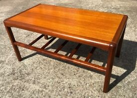 Teak Coffee Table Danish Occasional Table G Plan Era - Delivery Available