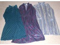Ladies Long Sleeved Dresses - Sold as Bundle
