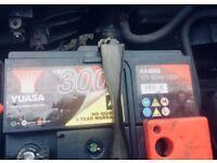 New (fIts Ford Mondeo )YUASA AA4003 550 amp CAR BATTERY!