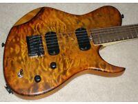** Reiver TKO Modern 6 Guitar - Handbuilt in the UK - Telecaster / Les Paul hybrid - STUNNING! **