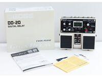 BOSS DD-20 GIGA DELAY Digital Delay Guitar Effect Pedal