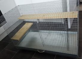 Large wire cage for rodents e.g. degu, rat