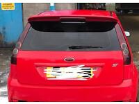Fiesta ST Pre Facelift Rear Tinted Lights from 2006 plate
