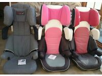 Concord child car seat, age 3-12. Highly rated for safety & comfort - ideal for Summer transport