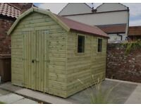 Brand New Dutch Barn Garden Shed, 10ft x 6ft Dutch Barn Style from £1009.00