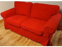 2 Seater Sofa and 2 sets of covers (Ikea Ektorp)