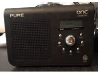 PURE One DAB / FM Portable Radio, pre-owned