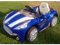 Electric childs Toy Car 6 Volt, with remote contol handset