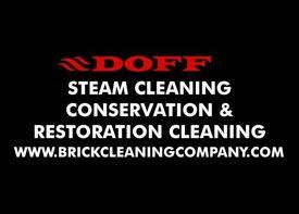 Brick cleaning & restoration