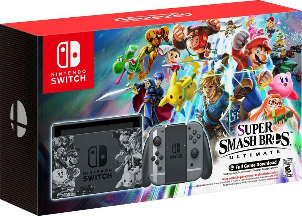 Nintendo Switch - Super Smash Bros  Edition - Comes with 2 Games and  accessories  *LIKE NEW* | in Islington, London | Gumtree