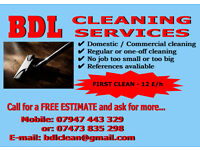 CLEANING SERVICE - BANCHORY AND SURROUNDING AREAS
