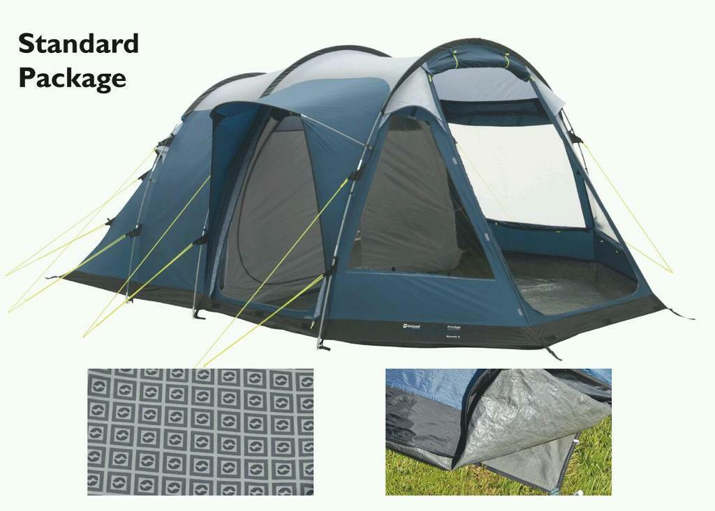 Outwell Nevada S 2015 (same as Nevada 4 2016) 4 man family tent package & Outwell Nevada S 2015 (same as Nevada 4 2016) 4 man family tent ...