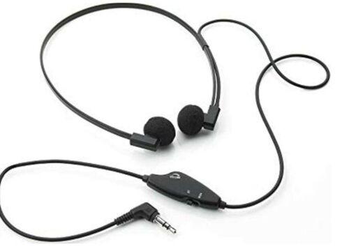 VEC Electronics Spectra SP-VC 5 Deluxe Twin Speaker Transcription Headset