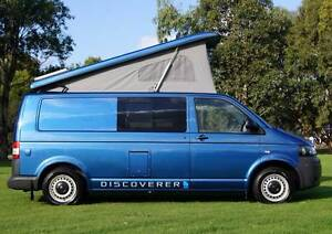 2012 Volkswagen Discoverer Pop-top Campervan - Immaculate! Albion Park Rail Shellharbour Area Preview