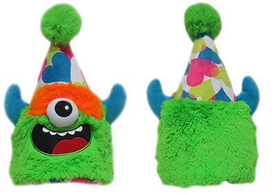 30 Stück CLOWN Monster Mütze Halloween Plüsch Kinder Kostüm Winter RESTPOSTEN