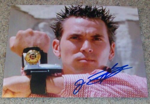 JASON DAVID FRANK SIGNED AUTOGRAPH POWER RANGERS 8x10 PHOTO A wEXACT PROOF