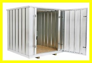 Portable Storage Shed Garden Shed - Steel Container
